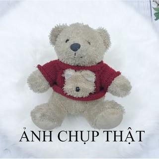 [THANH LÝ] Gấu Teddy 22cm Gấu bông mặc áo (ẢNH CHỤP THẬT)