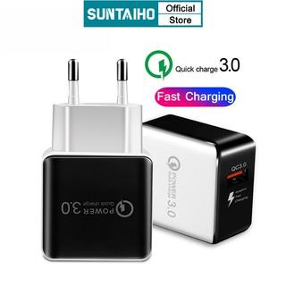 Cốc Sạc Nhanh SUNTAIHO Chuẩn USB 3.0 Cho Điện Thoại for iPhone 12 Pro Max 12 mini