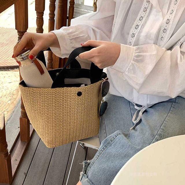 [HÀNG LOẠI 1] Túi cói FREESHIP Túi xách nữ đi biển,đi chơi mẫu mới dáng Vintage