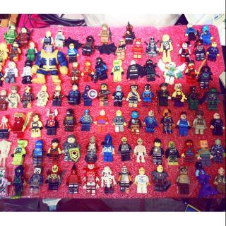 Combo 180 nhân vật non Lego kèm vũ khí