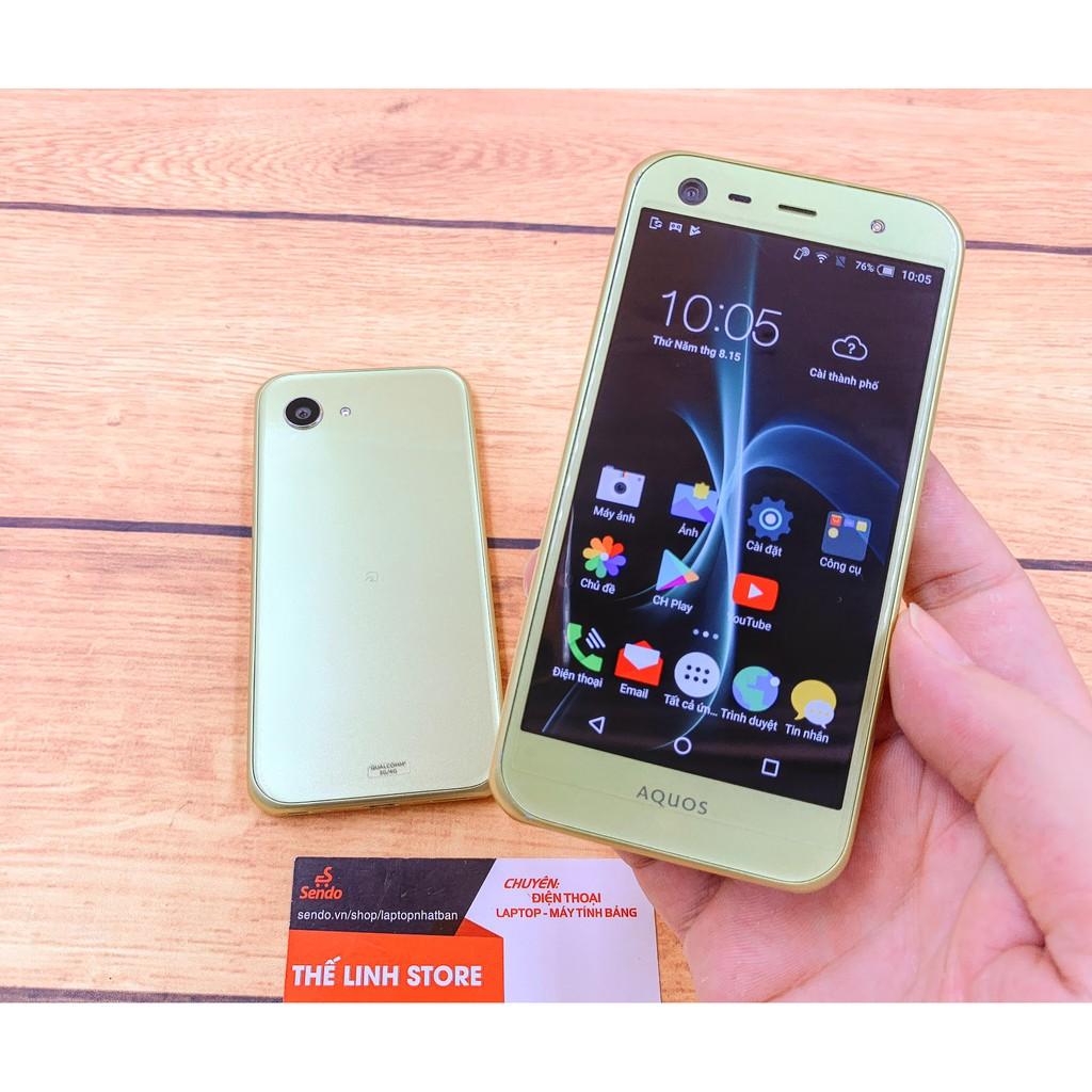 ĐIện thoại Sharp 603SH Xx3 Mini - Snap 617 Ram 3G 16G