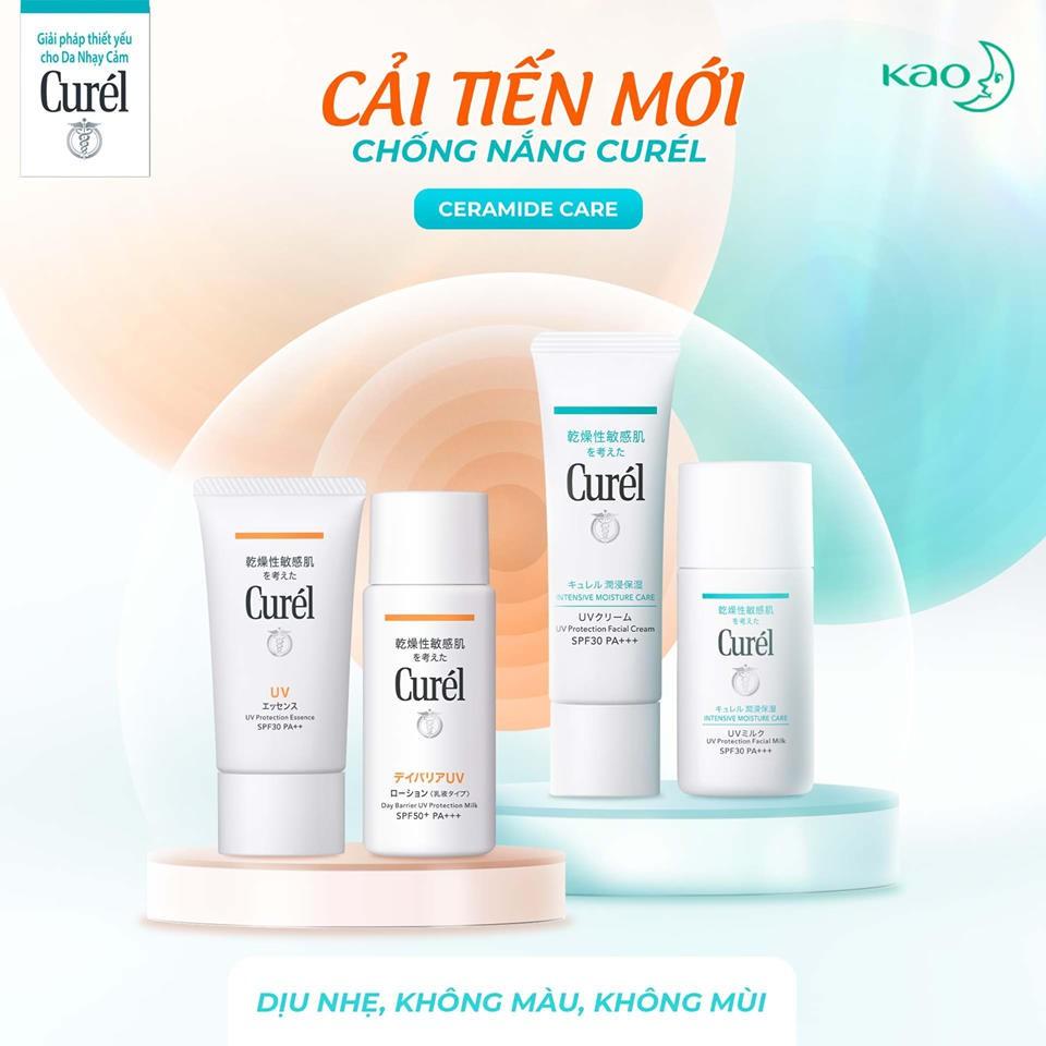 Curél UV kem chống nắng UV Protection Face Cream SPF 30 PA++ 30g | Shopee  Việt Nam