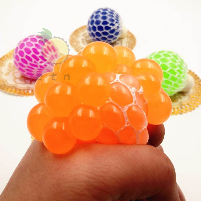Anti Stress Grape Balls Venting Balls Squeeze Stresses Reliever Toy Funny Gadgets Gift