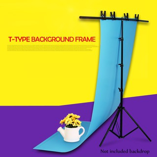 Background Support Stand T-shaped Background Frame