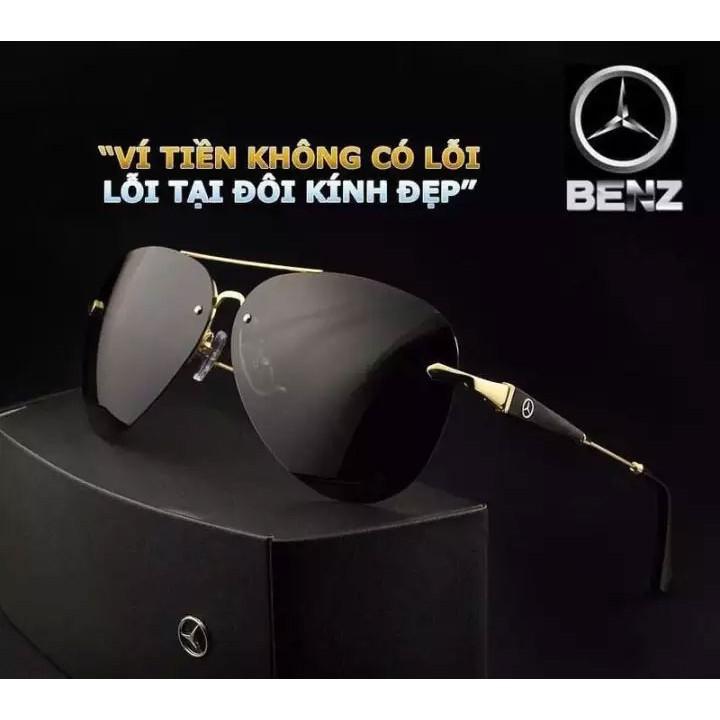 Mắt kính Mercedes Benz đẳng cấp quý ông – Mẫu mới sang trọng hơn (Full Box cực đẹp)