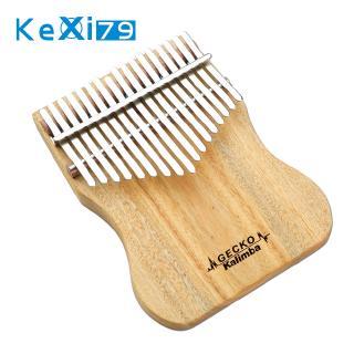 17 Key Kalimba Thumb Piano Finger Percussion Music Camphor Instrument