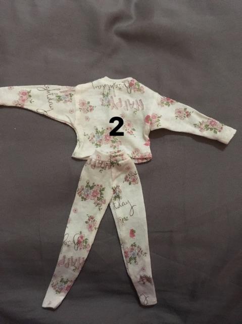 Quần áo búp bê size 1:6 xinyi, kexin...v...v...