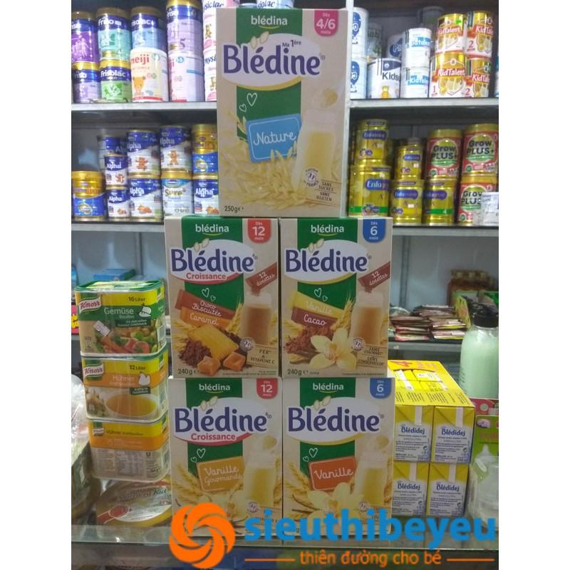 Bột pha sữa Bledina 6m/8m/12m 500g date T3/2019