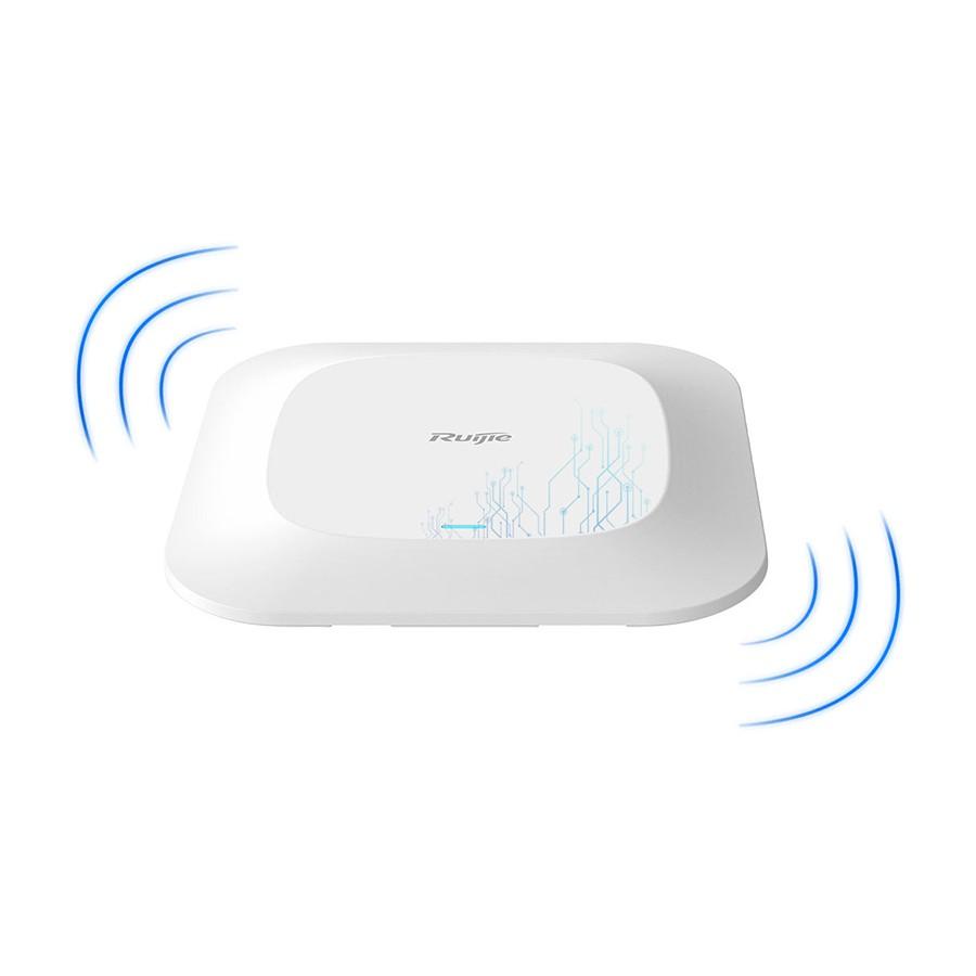 [Mã 267ELSALE hoàn 7% đơn 300K] Thiết bị phát sóng wifi gắn trần RUIJIE RG-AP210-L