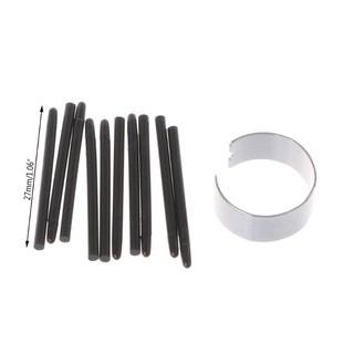 Bộ 10 ngòi bút đen cảm ứng thay thế cho bút stylus bảng vẽ Wacom