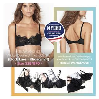 [32B B70] Áo Lót Black Lace - Không mút, Sexy và gọ thumbnail