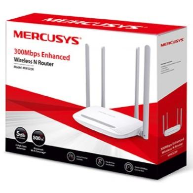 [Nhập mã ELMI01 giảm 10%]Bộ phát wifi Mercusys MW325R 04 Râu (Trắng) Giá chỉ 199.000₫