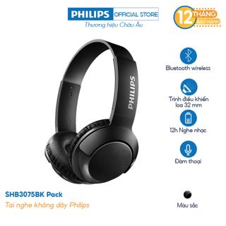 Tai nghe không dây Philips SHB3075BK/00 (Đen) - Chính Hãng