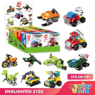 Xếp hình Lego Enlighten Squads 2102 10 mô hình đồ chơi lắp ráp phát triển trí tuệ cho bé (bán lẻ từng mô hình)