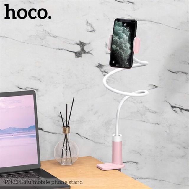Kẹp đuôi khỉ hoco PH23 dùng cho điện thoại- Kẹp hoco PH23 tương thích nhiều bề mặt