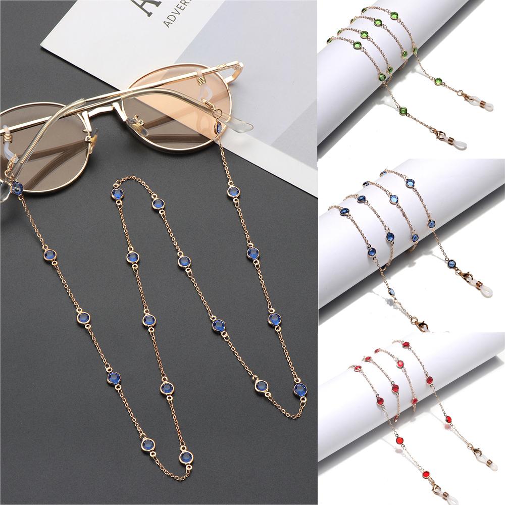 MOILY Multi-Function Metal Glasses Chain Women Men Non-slip Eyeglass Lanyard