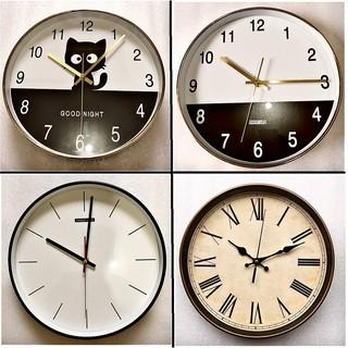 [SALE GIÁ HỦY DIỆT] Đồng hồ treo tường 30cm quartz cao cấp kim trôi