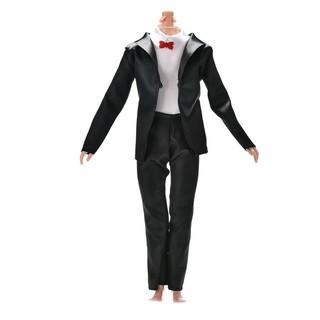 ❤❤2Pcs/Set Handmake Suit Pant Set for Barbie Ken Dolls 3 Colors