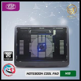 Đế Quạt Tản Nhiệt Laptop VSP Cooler N19 Đế Quạt Hút Tản Gió Làm Mát Nhiệt Máy Tính thumbnail