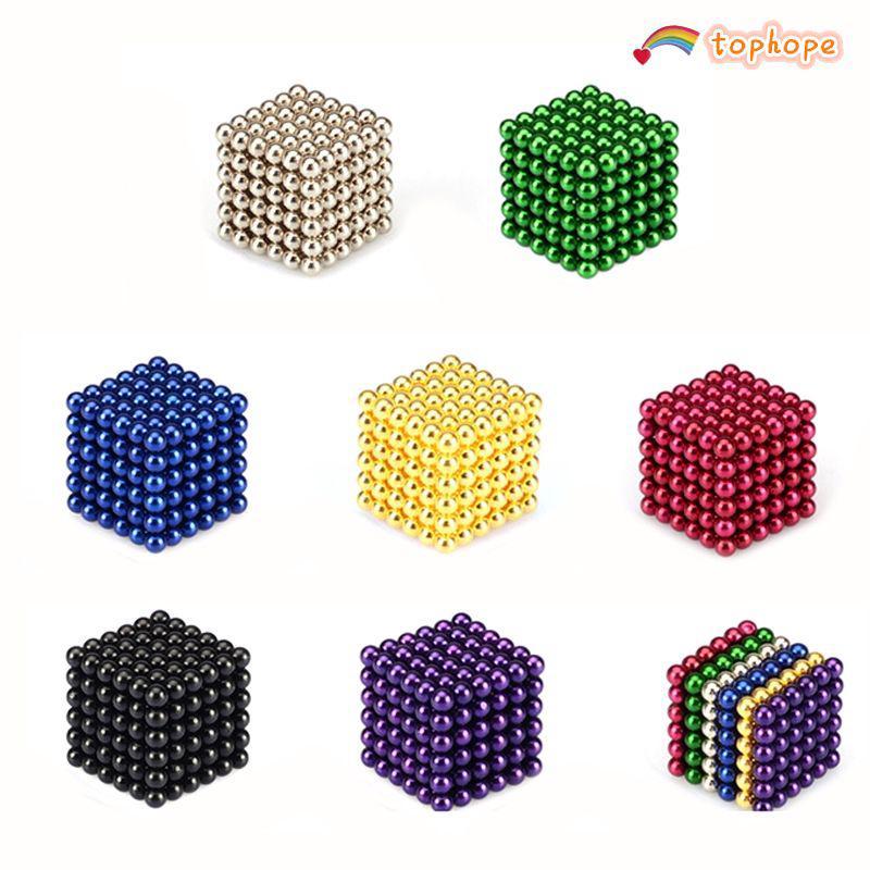 Fun 5mm 216pcs Neodymium Sphere Magic Balls Iron Cube Ball Fidget Stress Relief top