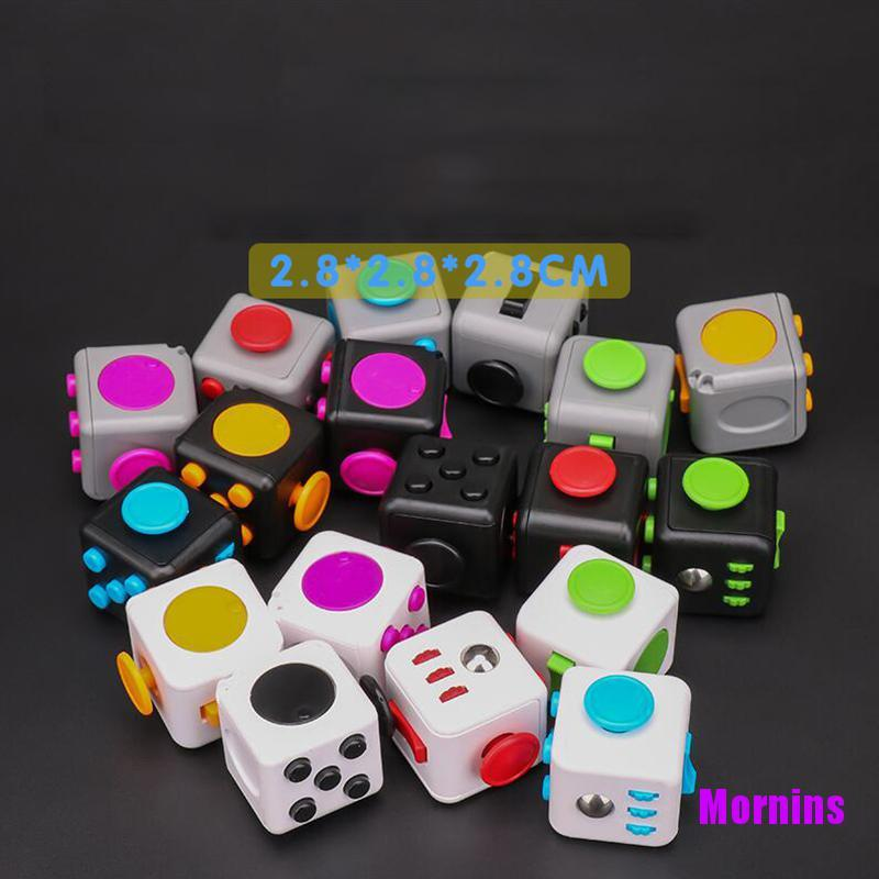 Mornin☪Ralix Fidget Cube Toy Anxiety Stress Relief Focus Attention Work Puzzle