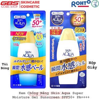 Kem Chống Nắng Skin Aqua Super Moisture Gel Sunscreen SPF50+ PA++++