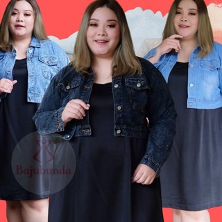 Áo Khoác Jeans Lửng Thời Trang Dành Cho Nữ… .1Ms