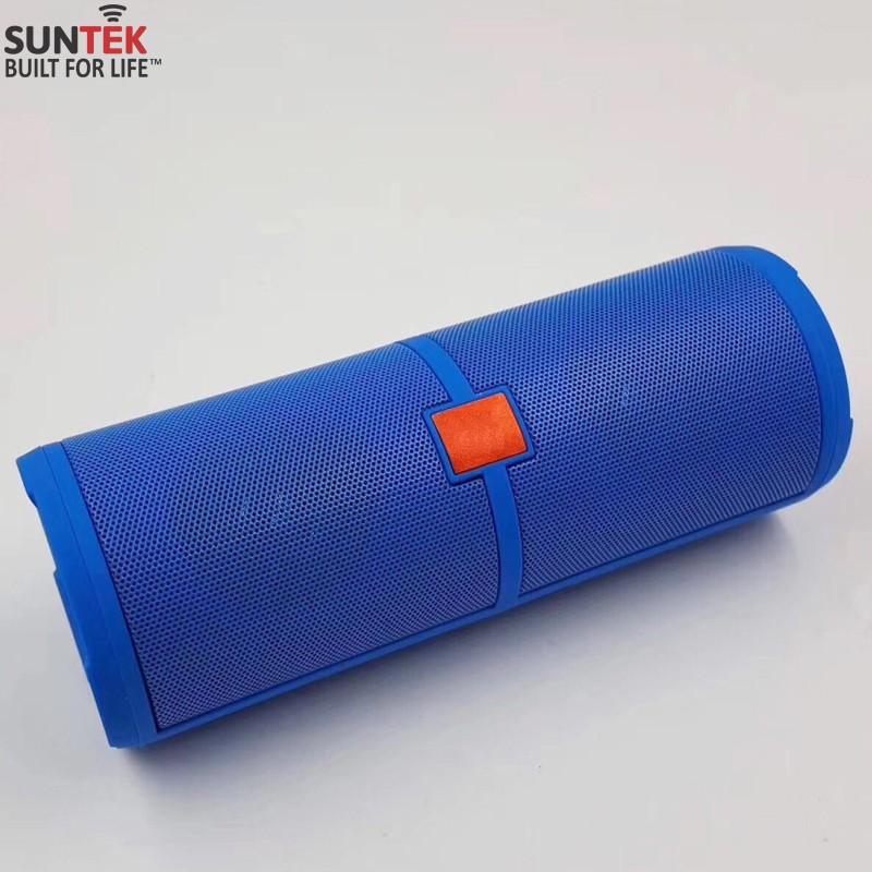 Loa Bluetooth SUNTEK S10 (Xanh) + Tặng củ sạc USB