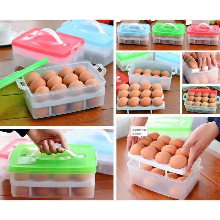 Hộp đựng trứng 2 tầng tiện lợi - 2797357 , 55280277 , 322_55280277 , 80000 , Hop-dung-trung-2-tang-tien-loi-322_55280277 , shopee.vn , Hộp đựng trứng 2 tầng tiện lợi
