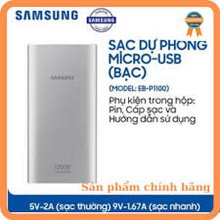 [Mã ELMSBC giảm 8% đơn 300K] Pin Sạc Dự Phòng Samsung 10.000mah Chính hãng