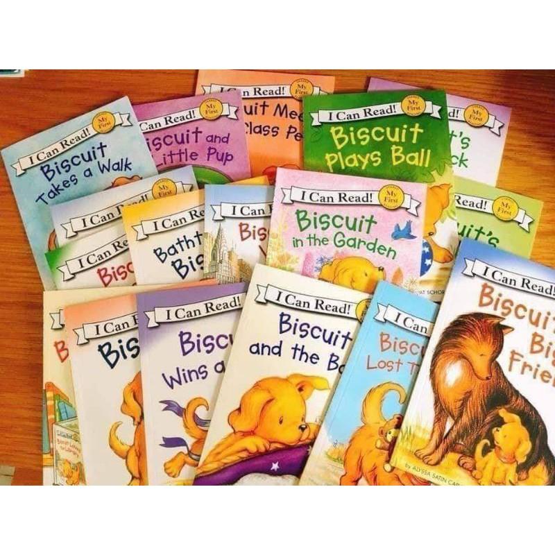 BISCUIT: I CAN READ! Fulll 23Books. Hàng nhập.