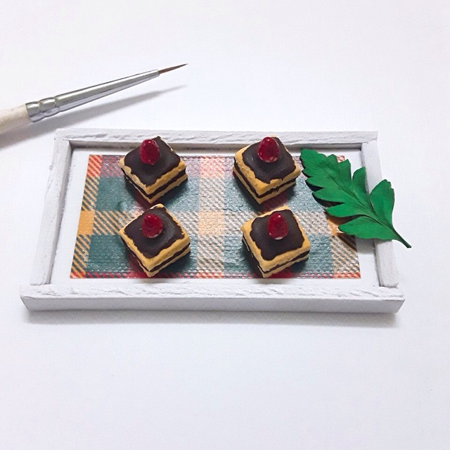 Minifood-bánh chocolate