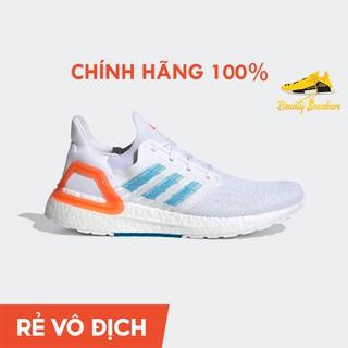 Giày Sneaker Thể Thao Nam Adidas Ultra boost 20 Primeblue Trắng Xanh EG0768 – Hàng Chính Hãng – Bounty Sneakers