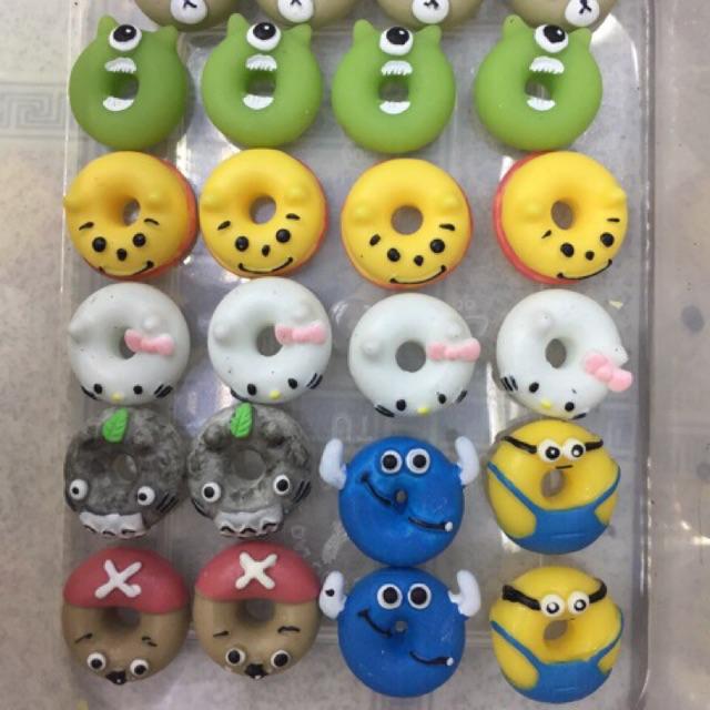Mô hình trang trí bánh donut hình nhân vật, charm trộn slime - 3251316 , 1016815267 , 322_1016815267 , 6000 , Mo-hinh-trang-tri-banh-donut-hinh-nhan-vat-charm-tron-slime-322_1016815267 , shopee.vn , Mô hình trang trí bánh donut hình nhân vật, charm trộn slime