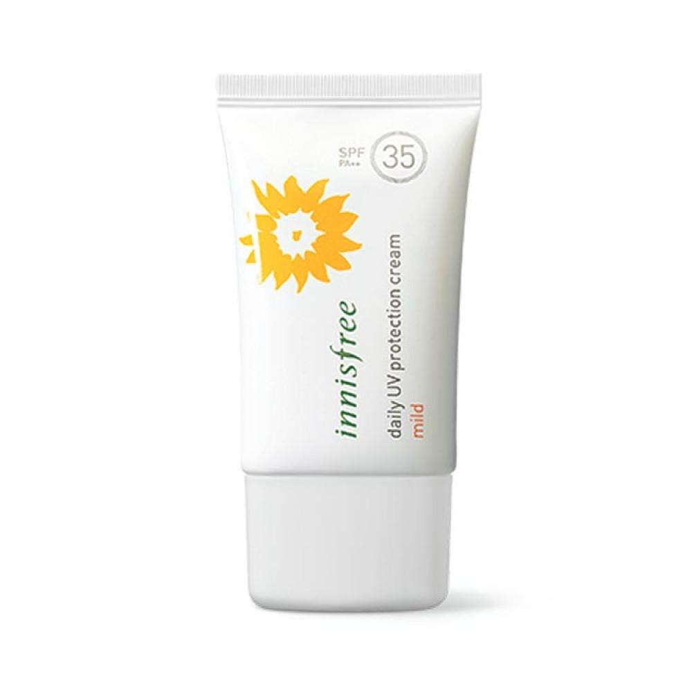 Kem chông nắng dưỡng ẩm Innisfree Daily UV Protection Cream Mild SPF35 PA++ - 3525234 , 1295884917 , 322_1295884917 , 150000 , Kem-chong-nang-duong-am-Innisfree-Daily-UV-Protection-Cream-Mild-SPF35-PA-322_1295884917 , shopee.vn , Kem chông nắng dưỡng ẩm Innisfree Daily UV Protection Cream Mild SPF35 PA++
