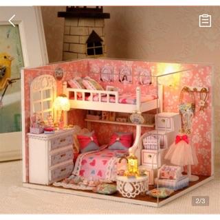 Nhà búp bê có đèn, mica – Dream Angels