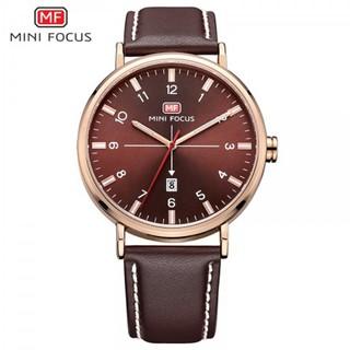 Đồng hồ nam MINI FOCUS MF019G dây da cao cấp size mặt 42mm chống nước