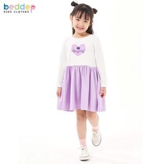 Váy xòe in hình Beddep Kids Clothes chất thun cho bé gái từ 1 đến 8 tuổi BP-G08 thumbnail