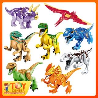 Mô hình đồ chơi Khủng Long lắp ráp – Công viên kỷ Jura Khủng long lắp ráp | TOY Center