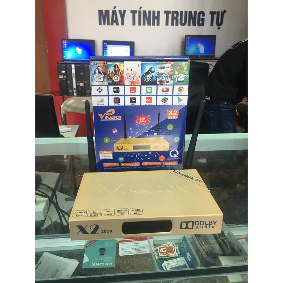 ĐẦU ANDROID TV BOX VINABOX X2