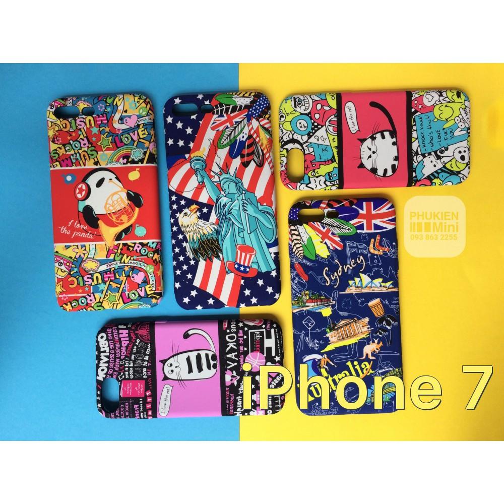 Ốp dẻo hoạt hình UMKU chính hãng iPhone 7 / iPhone 8