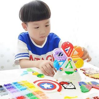 Bộ đồ chơi handmade hạt màu kỳ thú Hama, Perler gồm 10 màu, tặng kèm đầy đủ phụ kiện