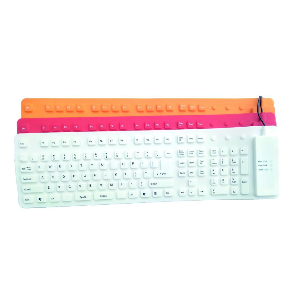 bàn phím silicone chống nước 109 phím