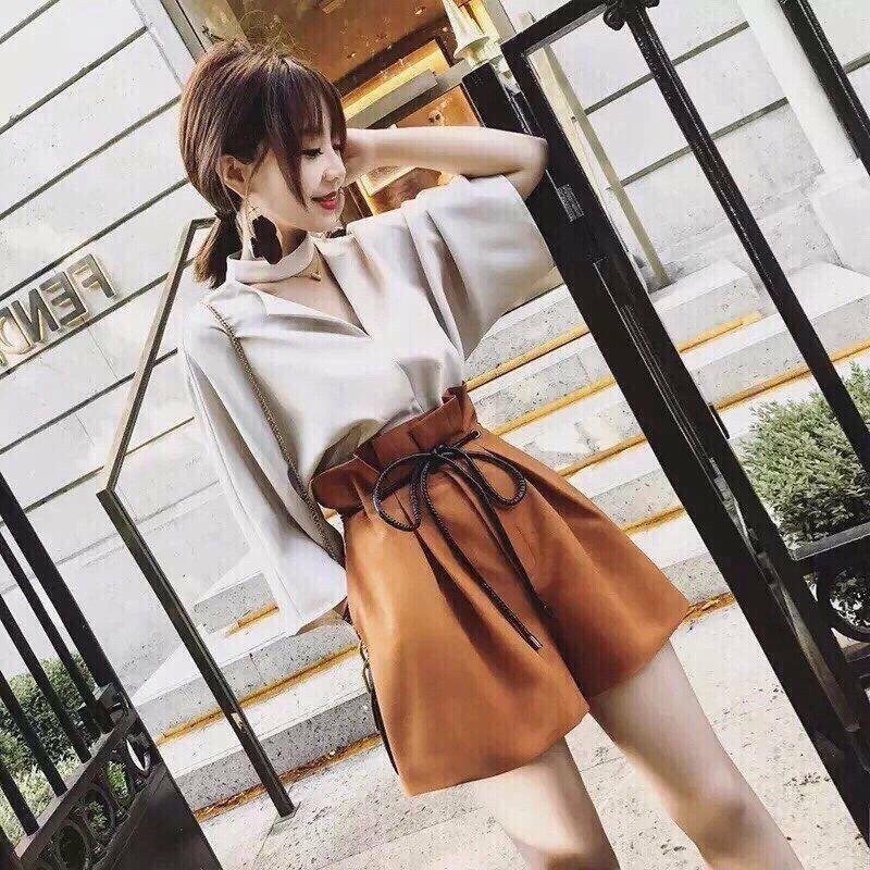 Bộ áo quần ống rộng dạo phố mùa hè hàn AO325QUa| Bộ quần áo cộc nữ đi biển cá tính - 3443303 , 1062238344 , 322_1062238344 , 170000 , Bo-ao-quan-ong-rong-dao-pho-mua-he-han-AO325QUa-Bo-quan-ao-coc-nu-di-bien-ca-tinh-322_1062238344 , shopee.vn , Bộ áo quần ống rộng dạo phố mùa hè hàn AO325QUa| Bộ quần áo cộc nữ đi biển cá tính