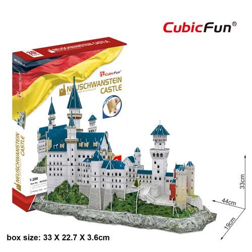 Mô hình giấy 3D CubicFun – Lâu đài cổ tích Neuschwantein – Đức (MC062h-2)