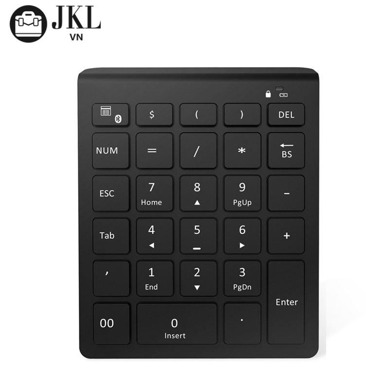 28 Keys Bluetooth Numeric Keypad Number Pad With Scissor-Switch NNV Giá chỉ 370.769₫