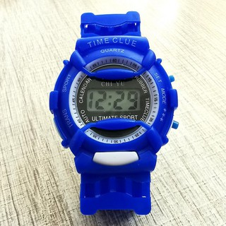 DH Đồng hồ điện tử trẻ em giới tính TIME CLUE dây cao su cực đẹp 8 YC45