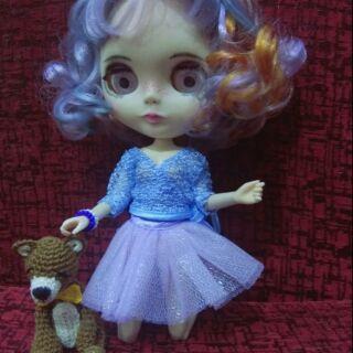 Đầm cho búp bê Blythe
