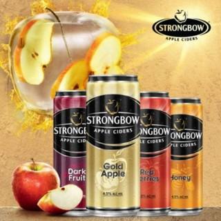 Nước ép táo lên men Strongbow lon cao 330ml