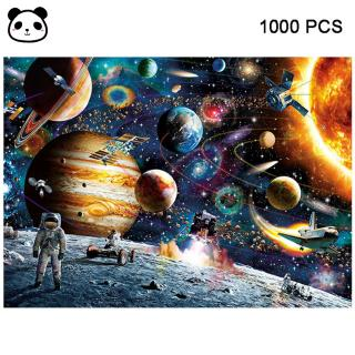 1000 Pieces Jigsaw Puzzles Educational Toys Scenery Space Stars Educational Puzzle Toy for Gift